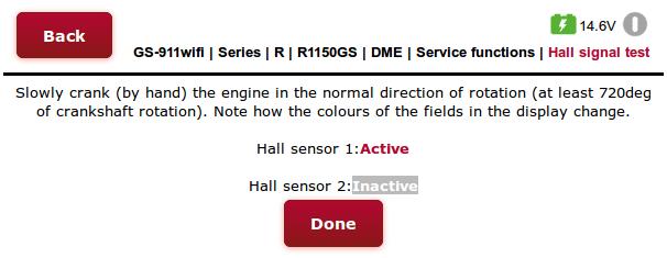 MA2.4 Hall Sensor test