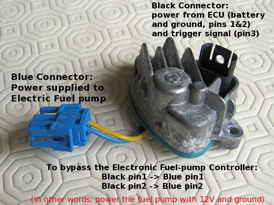 Electronic Fuel-pump Controller — HEX Code