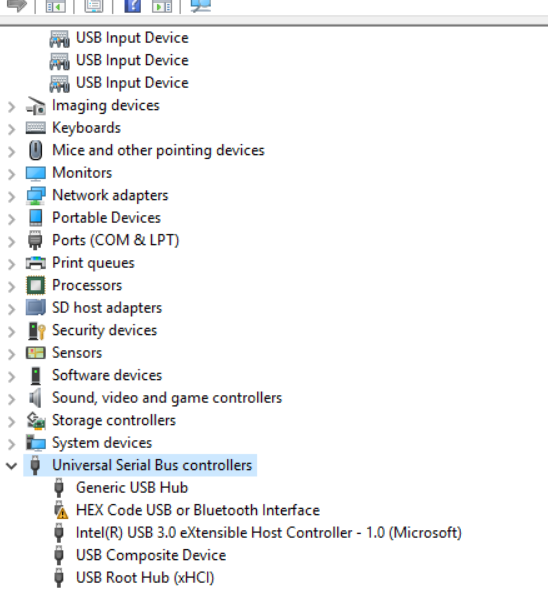 The GS-911 Downloader does not find my GS-911usb/blu device