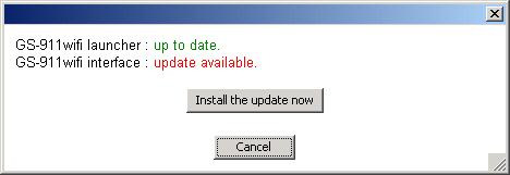 Install update now